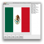 Display of the SVG Flag using FMX TCanvas operations in the OSX test application