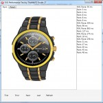 Display of the SVG watch using FMX TCanvas operations in the iOS test app